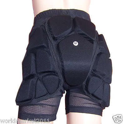 Outdoor Ski Snowboard SKI Protection Pants+Knee Guard Crash Pads S L M XL XXL