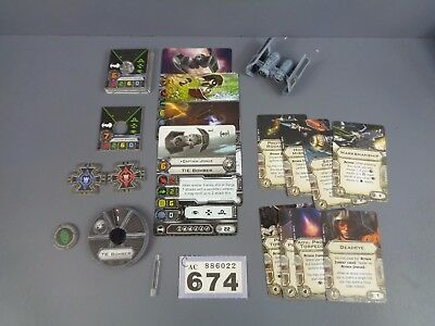 Wargaming Star Wars X Wing Clearance Tie Bomber Lot 674
