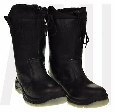 Sip Support Rigger Boots Protective Toe Cap Safety Boots Size 8-11 Drawstring
