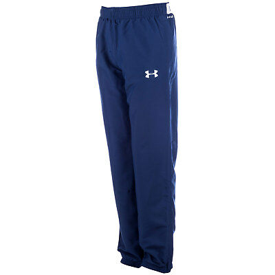 Junior Boys Under Armour Storm Powerhouse Pants In Navy-Boys Under Armour Track