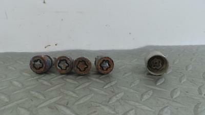 2011 RENAULT MEGANE Locking Wheel Nut Set 855
