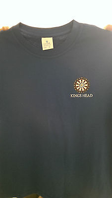 5 Personalised / Full Colour Custom Printed Dart T/shirts Christmas Gift