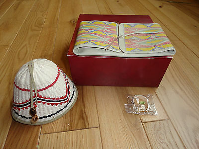 American Girl Kaya  Hat And Parfleche New In Box Retired Htf