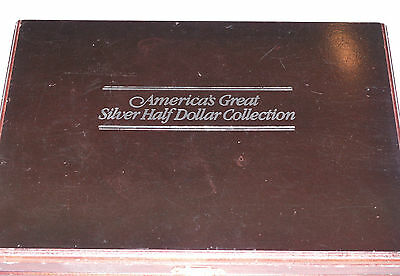 America's Great Silver Half Dollar Collection - 10 Silver Coins!! 1836-1982