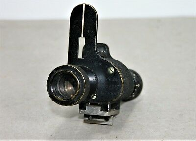 Vintage 6x Russian Monocular (Gun sight? ) Marked 1910 with granticles