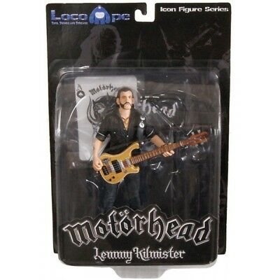 Mot?rhead Action Figure Lemmy Kilmister Rickenbacker Guitar Eagle 16 C [2110158]