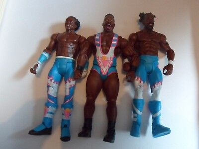 The New Day basic figure - - Mattel - wwe wrestling wwf wcw woods big e kofi