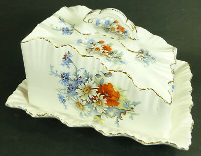 Antique Carlton Ware W & R Covered Cheese Dish Reg No. 213522 circa 1890s