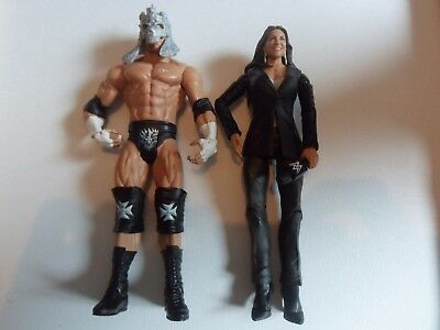 Triple H Stephanie McMahon basic figure - Battle Pack 42 - Mattel  wwe wrestling