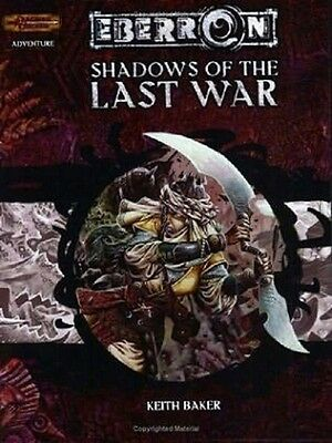 EBERRON SHADOWS OF THE LAST WAR Dungeons and Dragons D&D Wizards of Coast D20