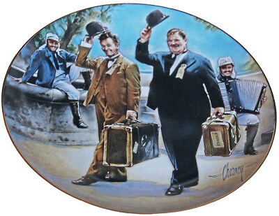 Franklin Mint Hats Off to Laurel & Hardy Plate