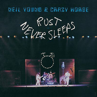 "LP NEIL YOUNG AND THE CRAZY HORSE ""RUST NEVER SLEEPS - VINYL"". New"