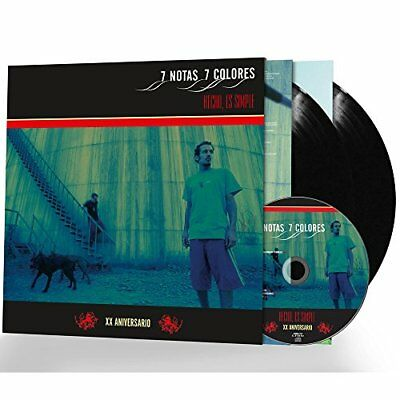 "Lp 7 Notes 7 Colours ""fact Is Simple -Xx Anniversary 2 Vinyl + Cd 3 Bonus-"". N"