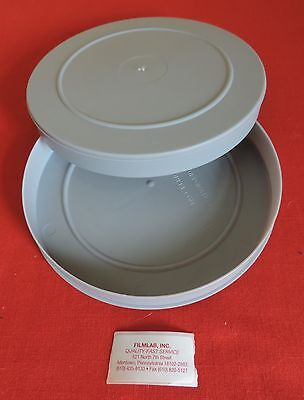 (11) *NEW* 16mm  400'  GRAY  PLASTIC EMPTY CANS