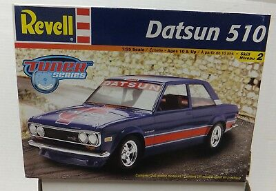 Datsun 510 Tuner Series Revell 85-2377 Open Complete Parts Factory Sealed