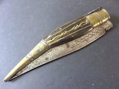 Antique Vintage Spanish Folding Knife Navaja