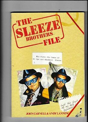 The Sleeze Brothers File The First Six Cases Marvel Graphic Novel Vgc