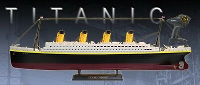 "RC RMS Titanic 32"" Radio Control Historical Assembled Boat w/ LED 24GHz 1:325"