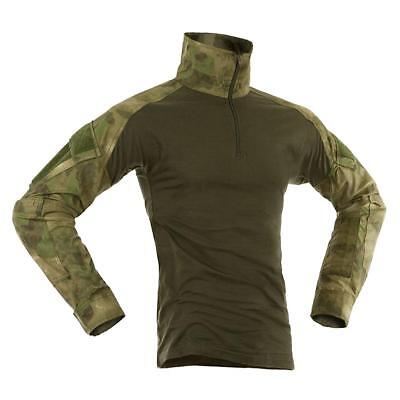 Invader Gear Ubacs Combat Shirt Everglade Camo Airsoft Paintball Army Style
