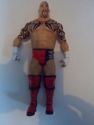 Tensai Basic figure - Series 28 - Mattel - wwe wrestling wwe wcw albert