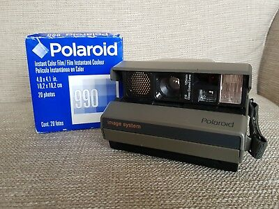 Polaroid Image System Instant Camera. Fully Working! Includes film!