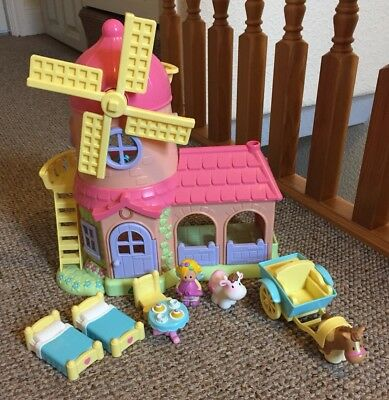 ELC Happyland Windmill Farm With Sounds, Furniture, Fairy, Animals Etc
