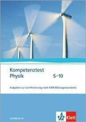 Kompetenztest Physik 5-10. CD-ROM