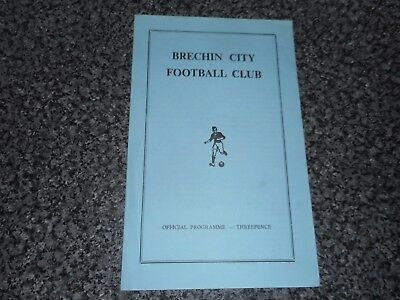 BRECHIN CITY  v  NAIRN COUNTY  1970/1  SCOTLAND CUP 1st ROUND ~ DECEMBER 5th