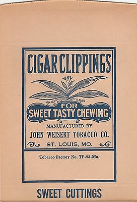 Vintage Sweet Cuttings Cigar Clippings. Union Made