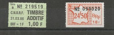 timbres fiscaux france BRF