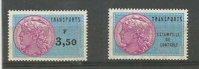 timbres fiscaux france TRANSPORT