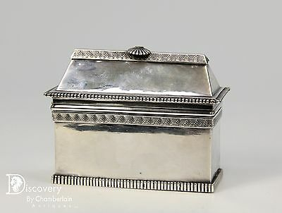 Unusual Antique French Silver Covered Box