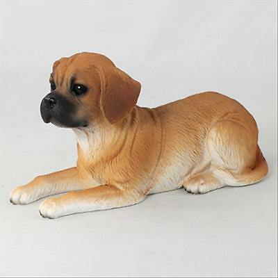 Puggle Dog Hand Painted Canine Collectable Figurine Statue