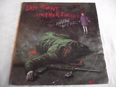 Angelic Upstarts ~ Last Night Another Soldier ** 1980 Zonophone 45