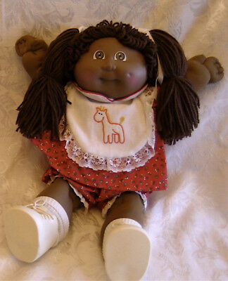 1985 Cabbage Patch African Canadian girl doll in beautiful condition - #86
