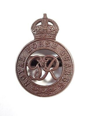 The Royal Horse Guards (George VI) Officers Service Dress Cap Badge (Firmin).