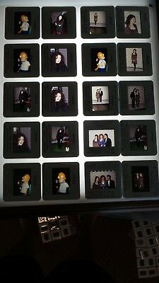 Tiffany Musician  Lot Of Color 35Mm Slide Transparency Photo #20