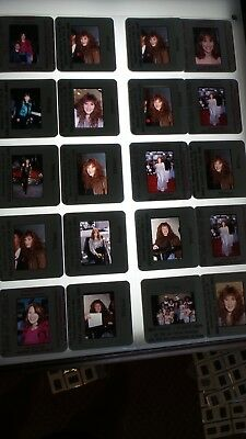 Tiffany Musician  Lot Of Color 35Mm Slide Transparency Photo #22