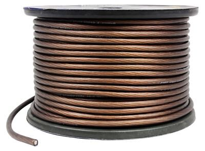 Rockville R8G250-Black 35 Feet 8 Gauge Car Amp Power/Ground Cable Install Wire