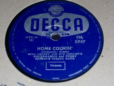 """Collection of 7x VARIOUS 10"""" 78RPM Gramophone Records Comedy Male Dance etc"""