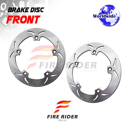 FRW 2x Front Brake Disc Rotor For BMW R 1200 GS 04-14 05 06 07 08 09 10 11 12 13