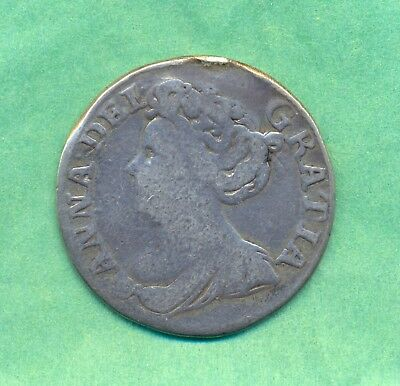 Shilling 1711 Queen Anne