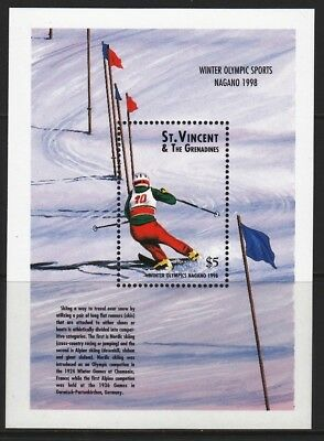 ST VINCENT (9701) 1997 Nagano  Olympic Games  Olympische Spiele  MNH