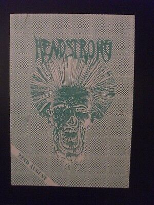 STRICTLY FOR THE HEADSTRONG - Rave Flyer - SW1   1990'S