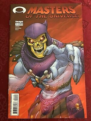 Masters of the Universe #1 (2002) Variant 2nd print Skeletor INVINCIBLE Preview