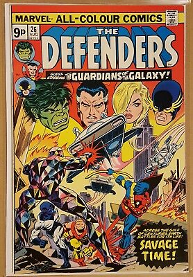 Defenders #26 , #27 , #28 , #29 (Guardians Of The Galaxy/starhawk - 1St Series)