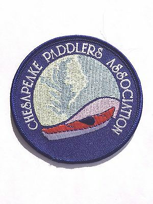 CHESAPEAKE Paddlers Association Patch/ Recreation/  Collectible.