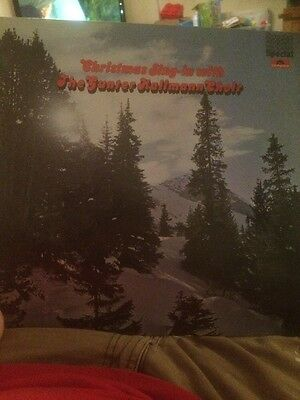 Christmas Sing In With The Gunter Kallmann Choir Lp Vinyl Record