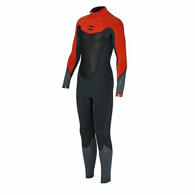 BILLABONG Youth 3/2 ABSOLUTE COMP BZ Wetsuit - ORG - Size 14 - NWT
