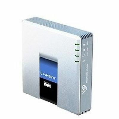 Cisco Linksys SPA2102 VoIP Phone Adapter Router Gateway